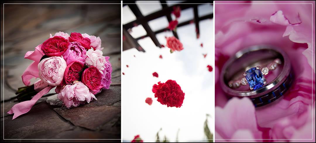 Wedding Flowers / Tsillan Cellars / Doug & Stephanie