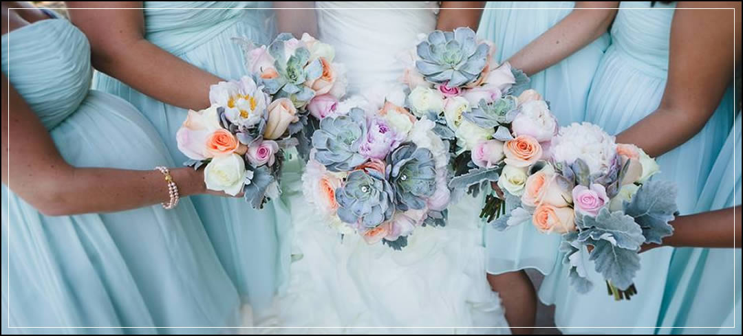 Wedding Flowers / Karma Vineyards / Russell & Taisha