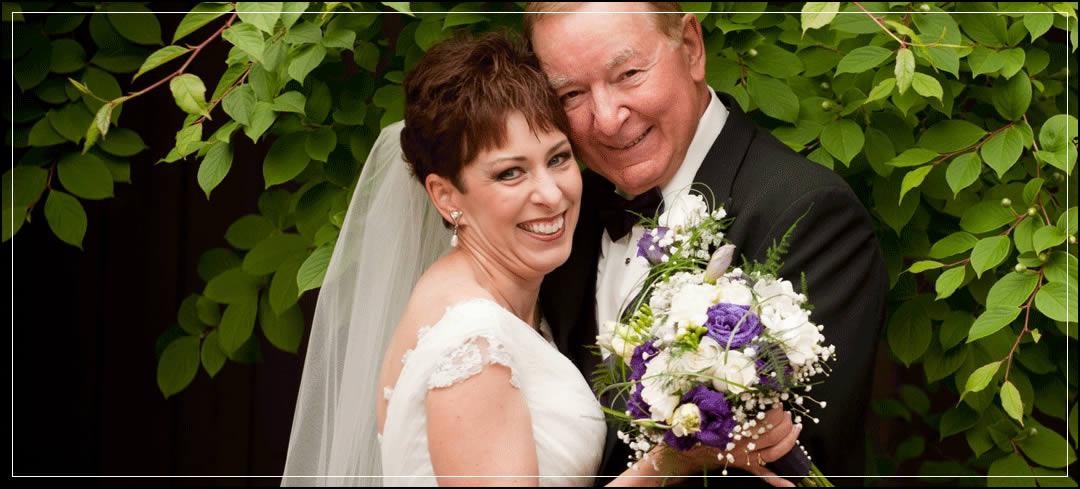 Wedding Flowers / All Saints Parish / Vincent & Karyn