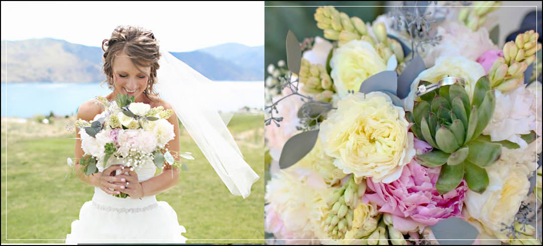 Wedding Flowers / Lake Chelan / Corey & Krysta