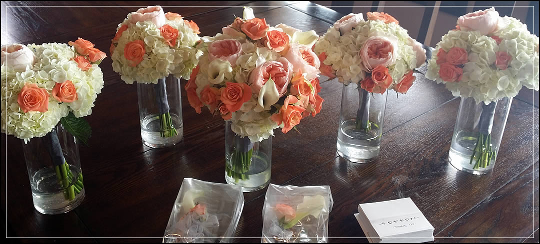 Wedding Flowers / Benson Winery / Roger & Sokhom in Chelan