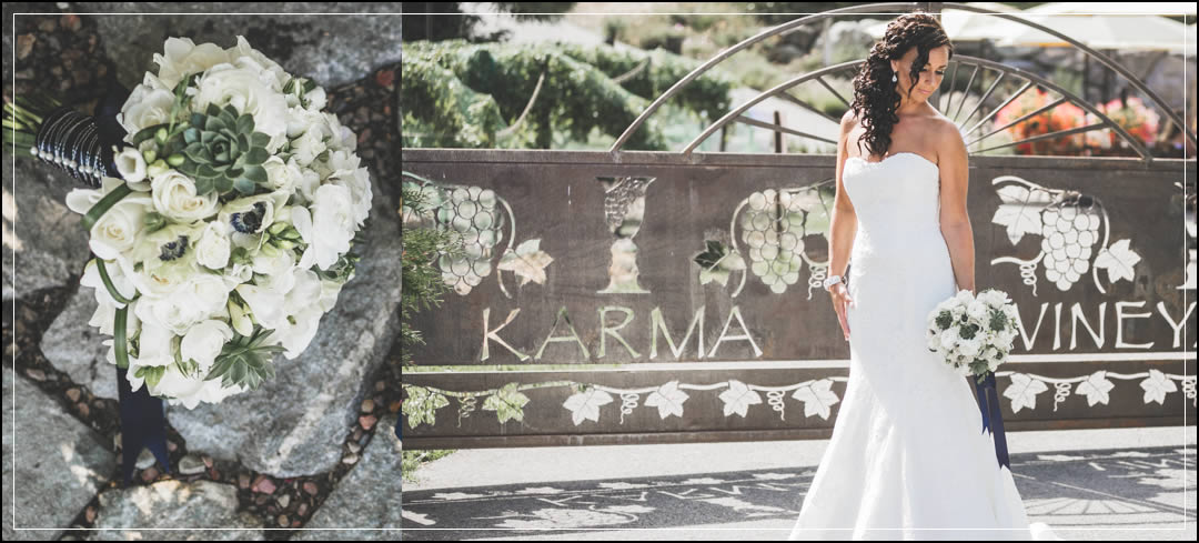 Wedding Flowers / Karma Vineyards / Nate & Tia