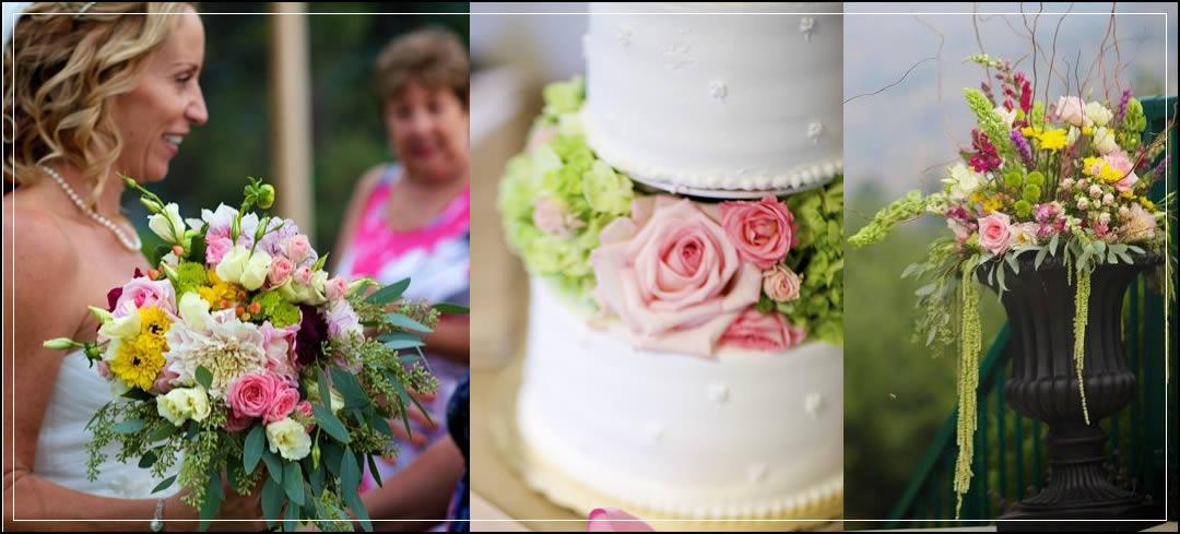 Wedding Flowers / Greens Landing / Justin & Tracy in Chelan