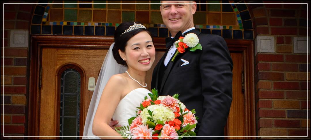 Wedding Flowers / Pioneer Park Pavilion / Anson & Yoko in Puyallup
