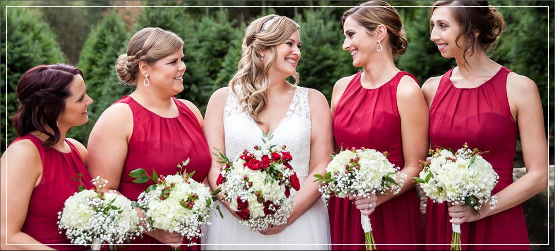 Wedding Flowers / Trinity Tree Farm / Paul & Erika in Issaquah
