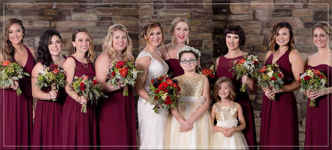 Wedding Flowers / Tacoma Elks Lodge/ Cole & Alisha