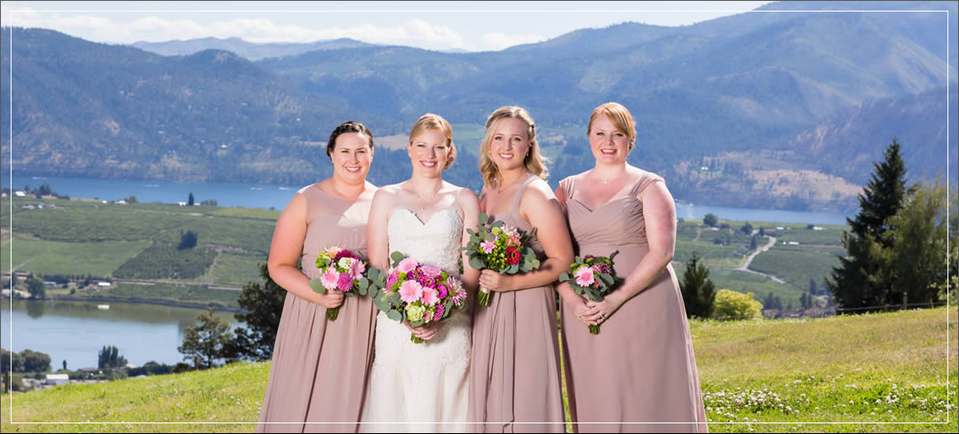 Wedding Flowers / Atam Winery / Steve & Amy in Chelan
