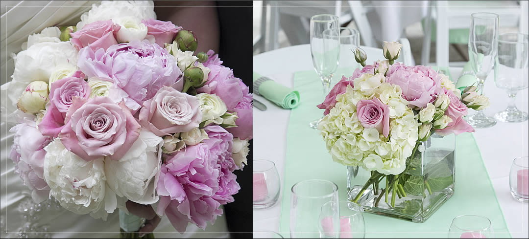 Wedding Flowers / Laurel Creek Manor / Justin & Ashley