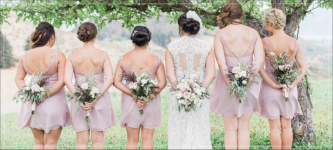 Wedding Flowers / Atam Winery / Tyler & Chelsa in Chelan