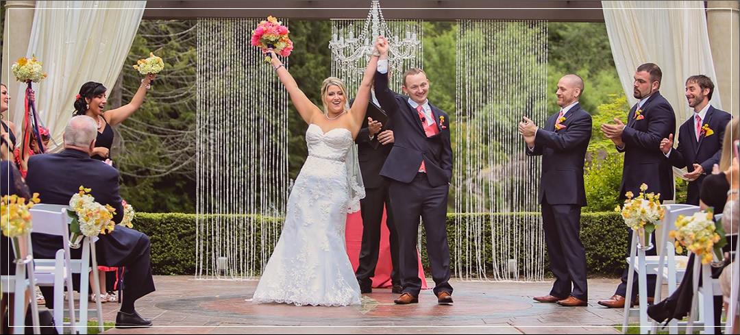 Wedding Flowers / Rock Creek Gardens Venue / Michael & Heather