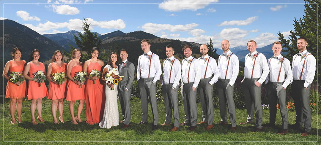 Wedding Flowers / Sun Mountain Lodge / Connor & Sara in Winthrop