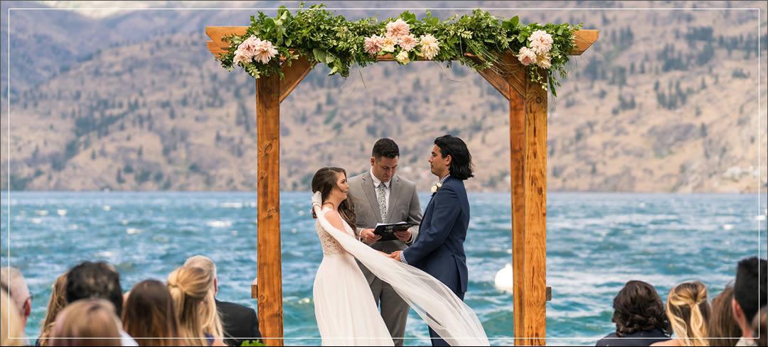 Wedding Flowers / Kelly's Resort / Taylor & Ashley in Chelan