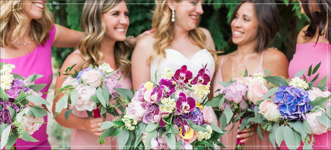 Wedding Flowers / Karma Vineyards / Michael & Emily in Chelan