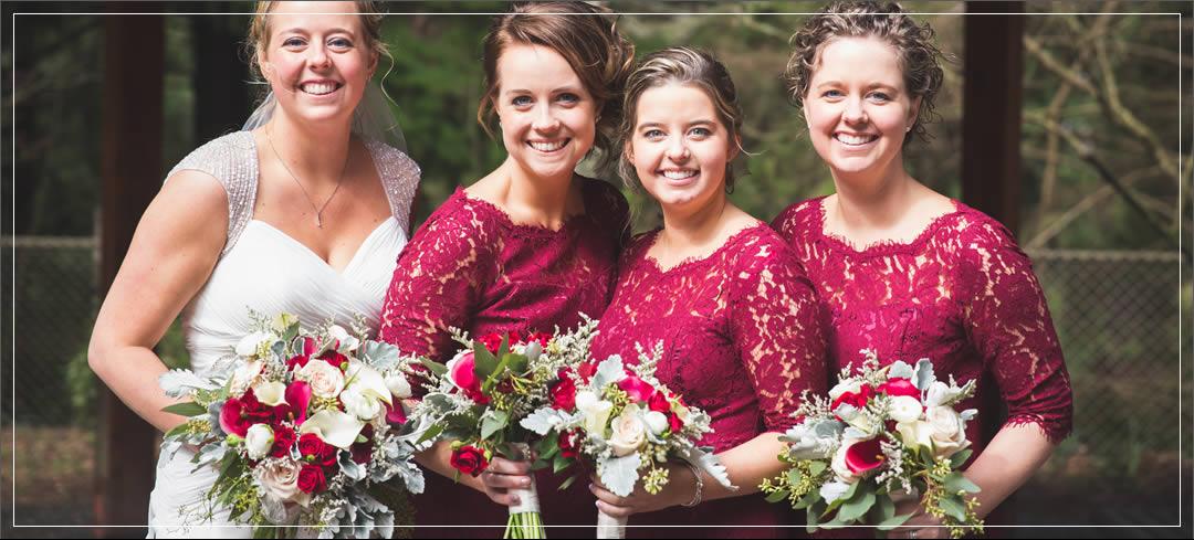 Wedding Flowers / Point Defiance Pagoda – Tacoma / Jeff & Julie