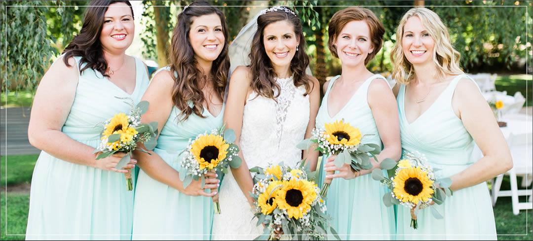Wedding Flowers / Rio Vista Winery / Kyle & Maya in Chelan