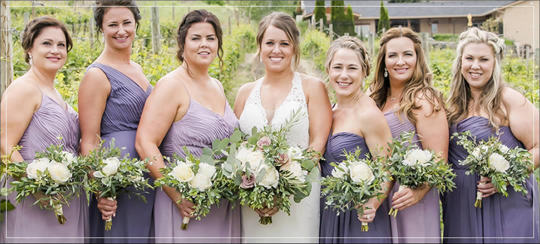 Wedding Flowers / Karma Vineyards / Chad & April in Chelan