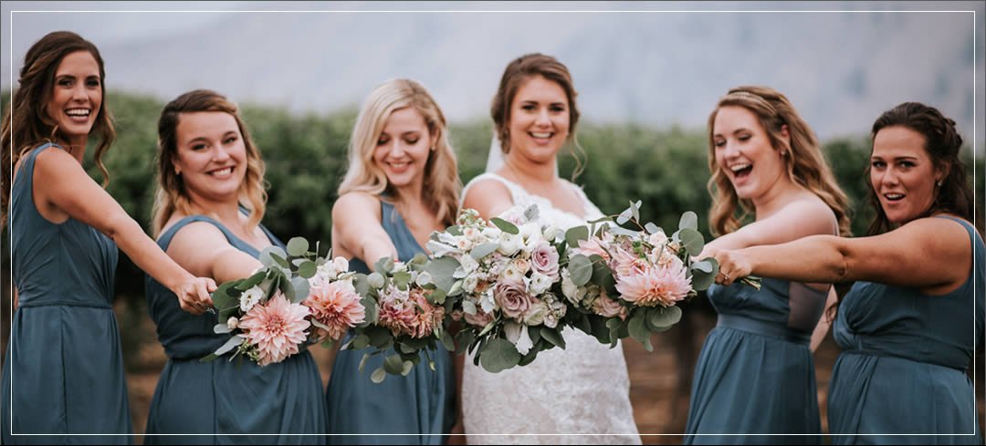 Wedding Planner / Rocky Pond Winery / Garrett & Cici in Chelan
