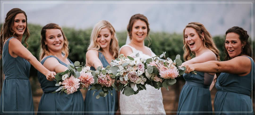 Wedding Planner / Rocky Pond Winery / Garrett & Cici in Chelan