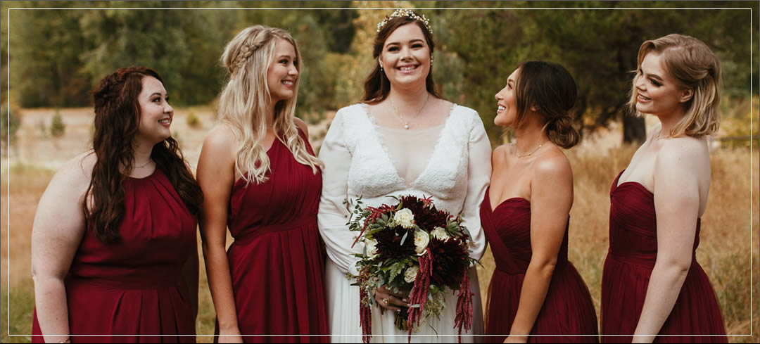 Wedding Flowers / Pine River Ranch / Ryan & Elysse in Leavenworth