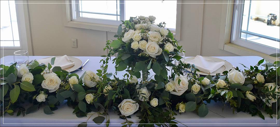 Wedding Flowers / Point Ruston Ferry / Scott & Kim in Tacoma