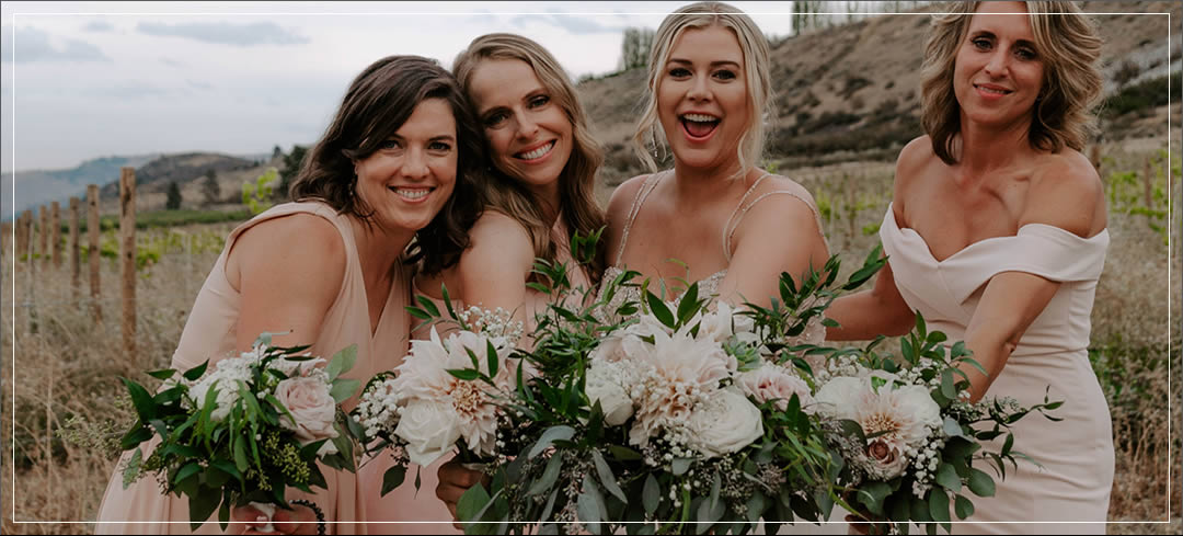Vineyard Wedding Venue, Planning, Flowers / Marcus & Brooke