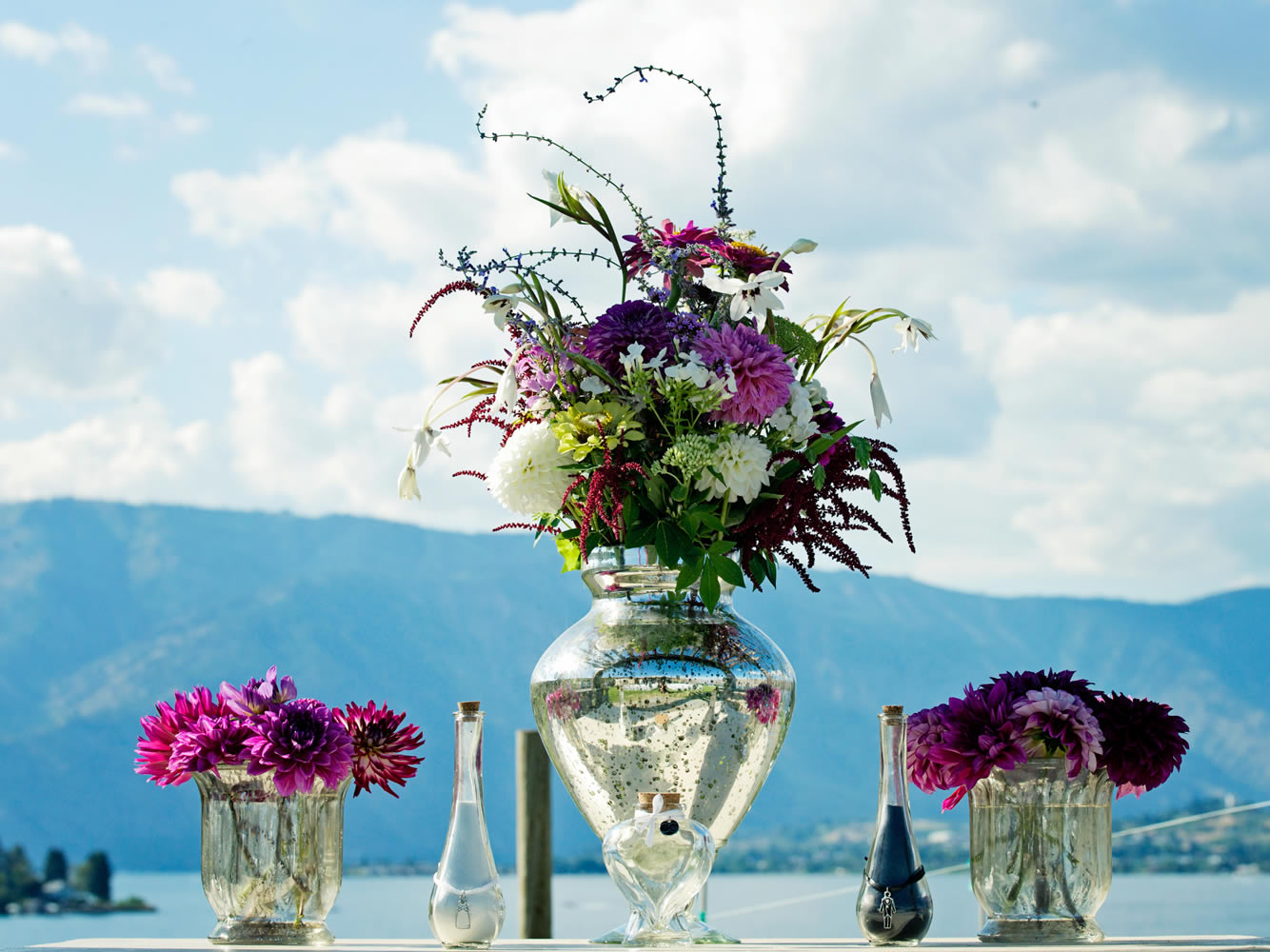 Puyallup & Lake Chelan Wedding Flowers