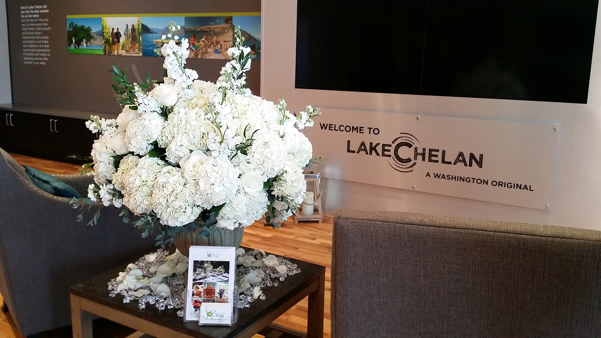 Lake Chelan Chamber of Commerce & Visitor Center NEW Building Grand Opening