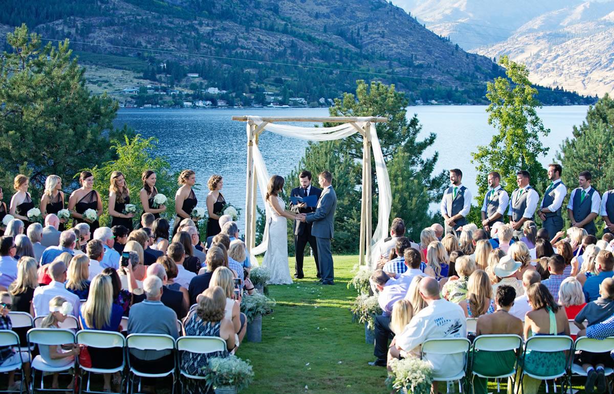 Greens Landing Puyallup Lake Chelan Flowers Wedding Planner