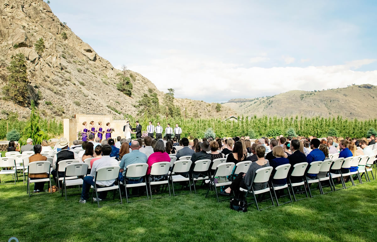 Lake Chelan Wedding Venue Images